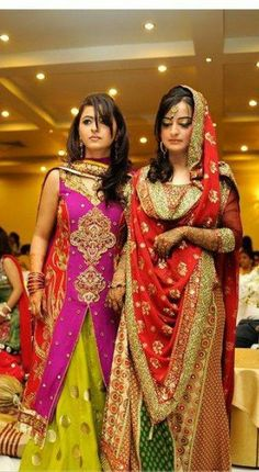 Pakistani dress,Pakistani wedding.mehndi dress
