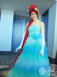 Ariel Little Mermaid Costume from #Disney D23