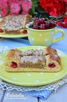 Gabriella kalandjai a konyhában :): Meggyes-diós macskaszem Hungarian Desserts, Poppy Cake, French Toast, Food And Drink, Breakfast, Recipes, Nail, Dios, Morning Coffee