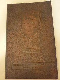 Antique Sewing Book White Schools of by VintagePatternDrawer, $12.95