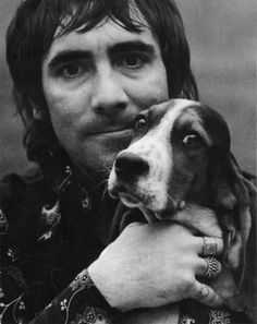 Keith and Friend Black White Photos, Black And White, Keith Moon, Big Noses, Greatest Rock Bands, Magic Bullet, Music People, Pet Dogs, Pets