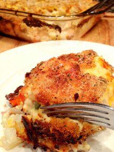 Hash Brown Chicken Casserole Recipe