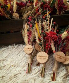 Hediyelik kuruçiçek magnetleri | kütüktepsi kütü
