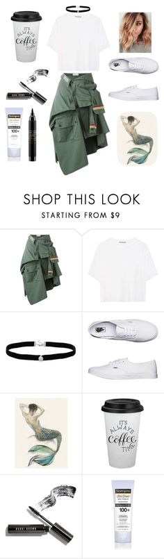 """""""Untitled #8"""" by mariinaa34 ❤ liked on Polyvore featuring Faith Connexion, Vince, Amanda Rose Collection, Vans, Bobbi Brown Cosmetics, Neutrogena and MAC Cosmetics"""