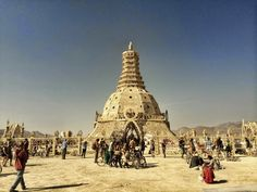 John Curley Temple of Grace Burning Man 2014 * The spiritual function of fierce terrain (in the apophatic trad. John Fowles, Burning Man 2014, Spiritual Path, Getting To Know You, No Way, Pilgrimage, The Life, Wander, Mystic