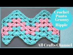 How to Crochet Granny Ripple Pattern - YouTube