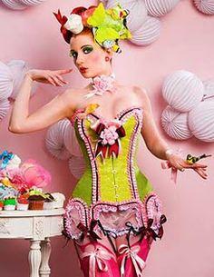 Maya Hansen cupcake inspired corsets