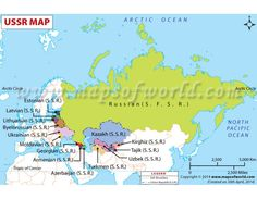 explore the union of soviet socialist republics ussr map the map shows soviet union countries capitals administrative and political divisions