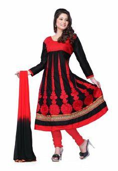 Indian Designer Wear Pure Cotton Black Embroidered Salwar Kameez Fabdeal, http://www.amazon.de/dp/B00J0V1P5O/ref=cm_sw_r_pi_dp_gS6otb05JB289