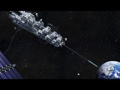 Japanese firm wants to build a space elevator by 2050 - YouTube