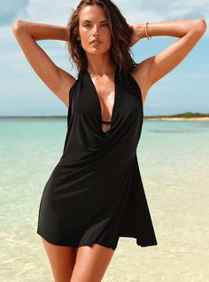 Victoria's Secret's Firm Control Convertible one-piece ($170) does stomach-concealing wonders.
