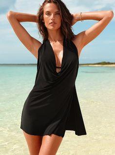 i love this. convertible swim dress/one piece. victoria's secret.