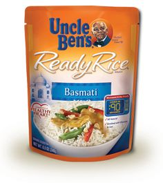 Uncle Ben's® Ready Rice® Basmati   Long Grain, Instant, Microwave Rice