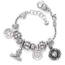 Country Road charm bracelet from Brighton Collectibles