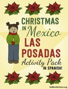 Christmas Around the World ~ Las Posadas Activities and Minibook that are fun, beautiful, and culturally authentic. In SPANISH!!!