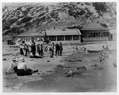 White's Point Hot Springs, San Pedro, California.