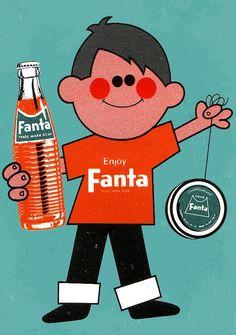 New Zealand Fanta Advert 1960s
