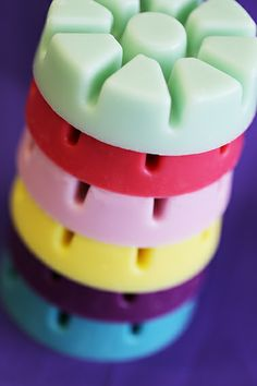 All the Scent Plus Melts in all the colours! Greedy? No, just LOVE PartyLite! :)