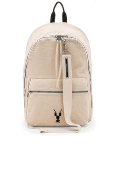 RICK OWENS DRKSHDW Zaino Backpack. #rickowensdrkshdw #bags #lining #canvas #backpacks #cotton #