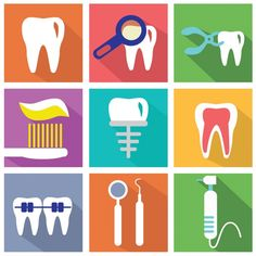 Teeth Are Fun: Friendly Images Of A Friendly Place - - These colorful images look so friendly because dental offices are friendly places these days.
