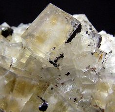 Fluorite On Quartz Rampgill Mine, Nenthead, Cumbria, United Kingdom