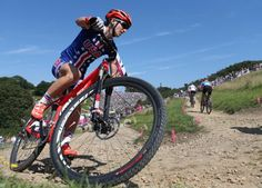 Olympic mountain biker Lea Davison encourages more ladies to hit the trails with 4 simple, useful tips.    Repin to share it with other mtb ladies out there.