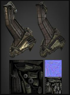 The Art of Brian Trochim - Environment Artist - Sci-Fi/Futuristic Works Hard Surface Modeling, 3d Modeling, Digital Sculpting, Hand Painted Textures, Modeling Techniques, Cg Artwork, Low Poly Models, Game Assets, 3d Artist