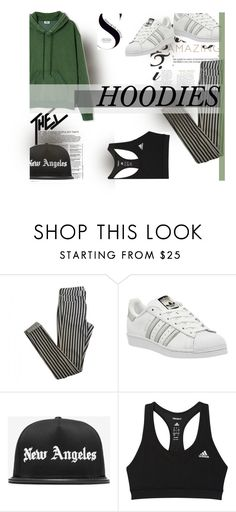 """Heads Up! Cute Hoodies"" by flytotheworld ❤ liked on Polyvore featuring Ailin, Topshop, adidas and Stampd"