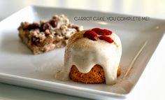 Carrot cake vegan and raw at Pure Juice Cafe. Www.purejuicecafe.com