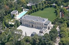 Metro Networks founder David Saperstein and his former wife Suzanne have just listed their Bel Air mansion for sale at $125 million. #celebrityhomes