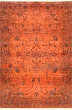 Shop the Alethia Herati Fringe Rug - Color: Orange; Size: x by NuLoom. Made from Polyester in Turkey. This Machine Made Orange rug has a pile_height, perfect for a soft yet durable addition to your home. Orange Rugs, Orange Area Rug, Polyester Rugs, Rectangle Area, Orange Design, Rugs Usa, Round Rugs, Indoor Rugs, Contemporary Rugs