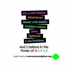 Being a G.I.R.L. (Go-getter, Innovator, Risk-taker, Leader) often means stepping outside of your comfort zone– and that is where the magic begins!