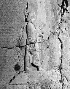 Relief of Darius I at his tomb in Naqsh-e Rostam, Iran.