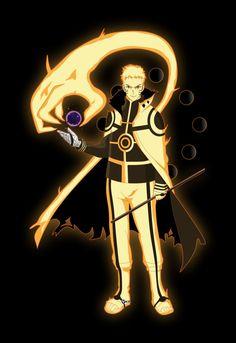 Six path Naruto Naruto Shippuden Sasuke, Naruto Kakashi, Fan Art Naruto, Naruto Sage, Naruto Uzumaki Art, Naruto Shippuden Characters, Naruto Anime, Anime Manga, Naruto And Sasuke Wallpaper