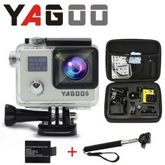 63.00$  Watch now - http://alihyp.worldwells.pw/go.php?t=32783023250 - Camera esporte de acao original YAGOO6 remoto ultra WiFi 1080 P 30fps FHD 2.0 LCD 170 ir pro camera A Prova D Agua Esporte 63.00$