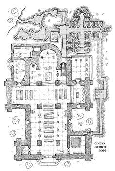Iglesia con cripta