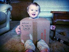 Kids Halloween Costumes: Jack in the Box