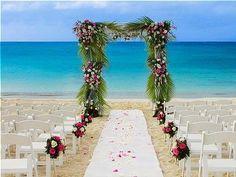 ~Beach wedding