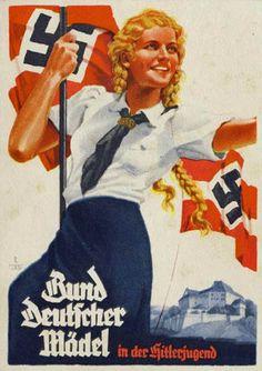 Iran Politics Club: Nazi Girls, Twisted & Wild 3: Nazi Propaganda Posters - Ahreeman X