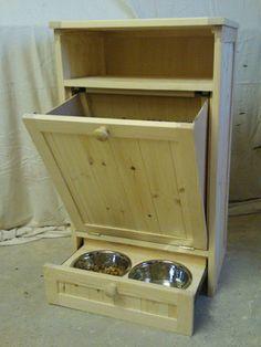 Pet Food Cabinet Storage...