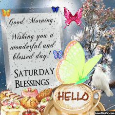 Good Morning Saturday Blessings Gif