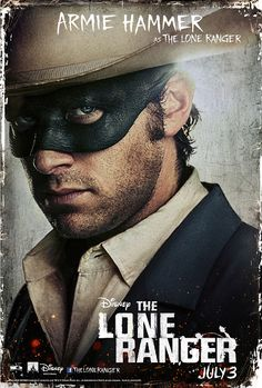 The Lone Ranger: Armie Hammer as The Lone Ranger!