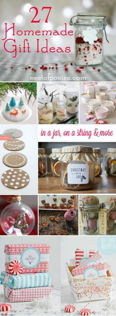 656 best Homemade Christmas Gifts images on Pinterest | Christmas ...