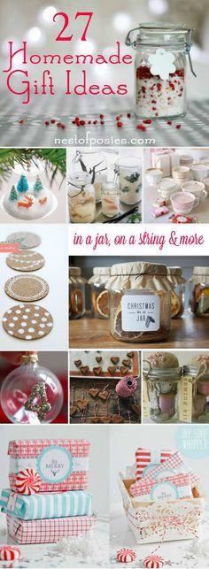 27 Homemade Gift Ide