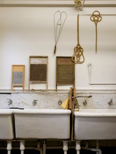 Haas-Lilienthal house. Laundry