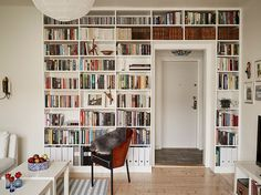 From A Single Bookcase To A Wall To Wall Library The Ikea