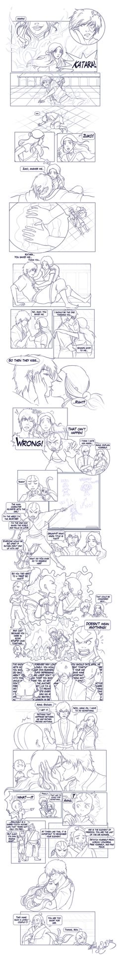 "This is hilarious! The End - Comic by Mandy-Mo.deviantart.com on @deviantART  ""You should date Appa."""