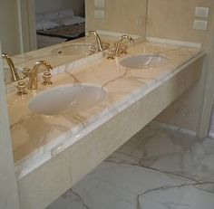 Pražský kámen s.r.o.   Inspireli Calacatta, Bathroom Inspiration, Sink, Image, Home Decor, Sink Tops, Vessel Sink, Decoration Home, Room Decor