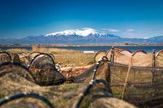 Vue du Canigou en hiver depuis Canet en Roussillon. #ILoveCanet