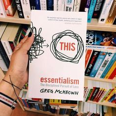 "Feel GoodFridays  Essentialism by Greg McKeown  I always felt too busy overworked and stretched thin. This book taught me to look only at the essential tasks and take my life's agenda back into my own hands. I'm now doing less work and producing better results. I'm an Essentialist for life!  Here's my 3 favorite book quotes:  ""If you dont prioritize your life someone else will.   Essentialists see trade-offs as an inherent part of life not as an inherently negative part of life. Instead of…"